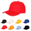 Blank 5-Panel Cotton Twill Baseball Cap with Adjustable Velcro, Long Leadtime