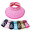 Bowknot Multicolor Straw Hat Children Sun Hat For Beach