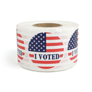 "Officeship I Voted Labels, 2"" Dia, 500pcs per Roll - Great for Election Day"