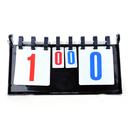 Custom Tabletop 4-digit Table Tennis Scoreboard Double-Sided Score Flipper, Long Leadtime