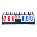 Custom Multi-Purpose 6-Digit Sports Flipper Basketball Scoreboard from 0-999