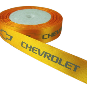 Custom 100 Yard Ribbon Roll with Logo(4/5 Width), Price/roll