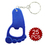 "Aspire Foot Shaped Bottle Opener with Keychain 25PCS/PACK, 2.25"" L x 1.35"" W"