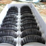 ALICE Long False Eyelashes Eye Lashes Makeup, Professional, Black(Price for 5 Box)