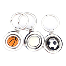 Aspire 3D Sports Ball Keychain, Rotating Keyring, 3 pcs/ Set