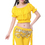 BellyLady Belly Dance Tribal Cotton Top With Ruffles