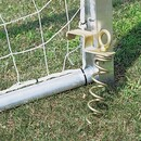 Alumagoal Screw-In Removable Ground Anchors - Removable Ground Anchors only