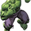 "Advanced Graphics 1591 Hulk - 74"" x 49"" -  Cardboard Standup"
