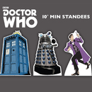 Advanced Graphics 1778 Doctor Who - Set of Three Mini Comic Standups (Tardis, The Doctor and Dalek) Package (Doctor Who) - 10