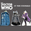 "Advanced Graphics 1778 Doctor Who - Set of Three Mini Comic Standups (Tardis, The Doctor and Dalek) Package (Doctor Who) - 10"" H Cardboard Standup"