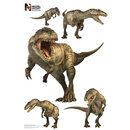 Advanced Graphics WJ1039 Giganotosaurus Group WallJammers - Wall Jammer
