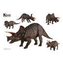 Advanced Graphics WJ1041 Triceratops Group - Wall Jammer