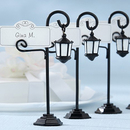 Idoo Bourbon Street Streetlight Place Card Holder with Coordinating Place Cards