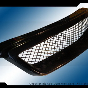 ABS Dynamics GRILL-C9698-JDM-TY 96-98 Honda Civic Front Grille Type-R Style (plastic)