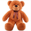 "GOGO 39"" Lovely Dark Brown Bear Stuffed Plush Toy, Big Plush, Gift Idea"