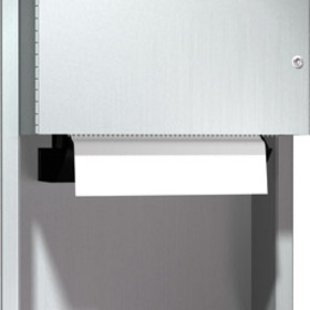 ASI 045224 Roll Paper Towel Dispenser, Recessed