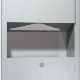 ASI 0462-AD-9 Paper Towel Dispenser And Waste Receptacle