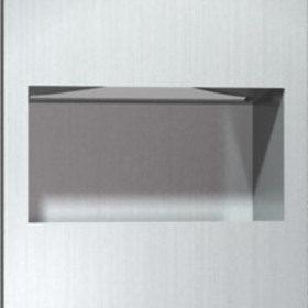 ASI 64623-9 Recessed Paper Towel Dispenser And Waste Receptacle
