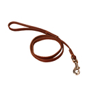 GOGO Leather Dogs Leash With Swivel Hook, Faux Leather Leashes For Dogs