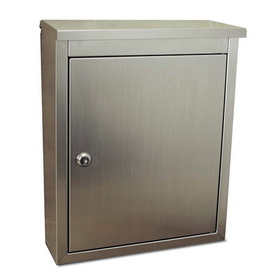 Architectural Mailboxes Metropolis Locking Wall Mount Mailbox