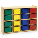 Angeles AVL1070 Value Line 16 Cubbie Storage - With Trays?