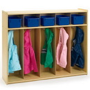 Angeles AVL1120 Value Line Toddler 5-Section Locker
