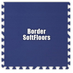 Alessco SoftFloors SFRB0202B, Royal Blue, 2' x 2' Border / Each, Total Piece: 1