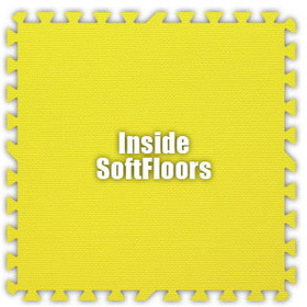 Alessco SoftFloors SFYW0202I, Yellow, 2' x 2' Inside / Each