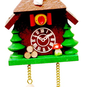 ULBR Ornament, Cuckoo Clock Each (Item number: 10-0027)