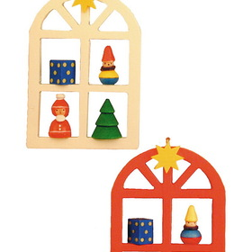 ULBR Ornament, Advent Window Each (Item number: 10-0116), UPC: 821692021865