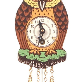 ENGS Clock, Owl W/Mvng Eye Sm Each (Item number: 201)