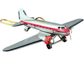 SHAN Ornament, Tin Dc-3 Plane Each (Item number: MF3310)