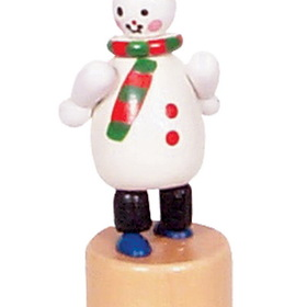 FUJI Push Toy, Snowman Mini Each (Item number: X1042-3), UPC: 821692002987
