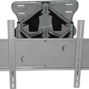 Audio 2000 AST420W Flat Panel Tv/Monitor +/-90 Degree Swivel Wall Mount With +/-12 Degree Tilt Angles(Silver)(For Tv 40