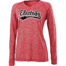 Holloway 222717 Ladies Electrify 2.0 Shirt V-Neck LS