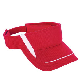 Augusta Sportswear 6276 - Adjustable Wicking Mesh Edge Visor - Youth