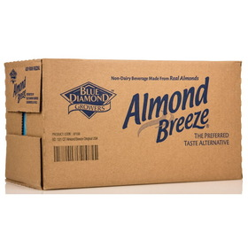 Blue Diamond Almond Breeze, Original - 12 x 32 ozs.