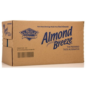Blue Diamond Almond Breeze, Chocolate - 12 x 32 ozs.