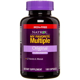 Natrol My Favorite Multiple No Iron - 180 caps