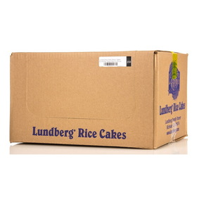 Lundberg Rice Cakes, Brown, Salted, Eco-Farmed, Gluten-Free - 12 x 8.5 ozs.