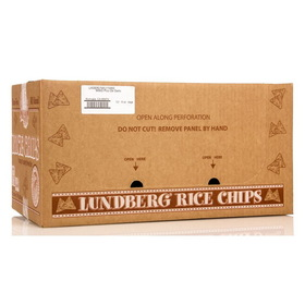 Lundberg Bean & Rice Chips, Pico de Gallo, Gluten-Free, SN120, Price/12 x 6 ozs