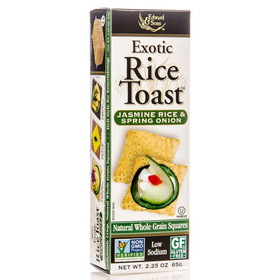 Edward & Sons Rice Toast, Jasmine Rice & Spring Onion - 2.25 ozs.