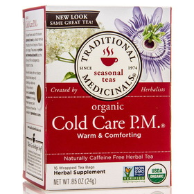 Traditional Medicinals Cold Care PM - 1 box