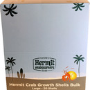 Flukers Hermit Crab Growth Shells Bulk