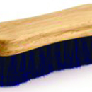 Desert Equestrian Legends Peanut-Shaped Face Brush - Blue - 4.5 Inch