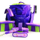 Desert Equestrian Equestria Sport Luckystar Boxed Grooming Set - Purple - 9 Piece