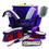 Desert Equestrian Equestria Sport Horseshoes Deluxe Grooming Set - Purple - 8 Piece