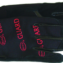 Boss Guard Reversed Goatskin Glove - Black - Large