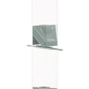Nature's Way Deluxe Thistle Seed Tube Feeder - Clear/Pewter - 25 Inch