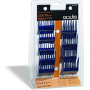 Andis Universal Snap-On Comb Set For Pet Clippers - Blue - Small/9 Piece